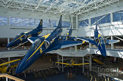 Photograph - Blue Angels Auditorium 2 by Tim Mulina