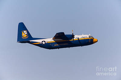 Photograph - Blue Angels Fat Albert C130t Hercules At San Francisco Fleet Week 5d29575 by Wingsdomain Art and Photography