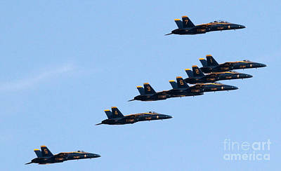 Photograph - Blue Angels Fly-over One Wtc by Steven Spak