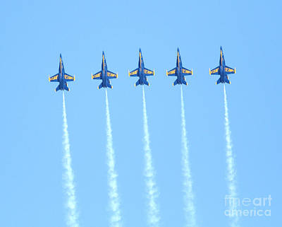 Blue Angels Reaching New Heights Art Print
