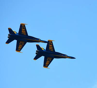 Photograph - Blue Angels  by Richard Bryce and Family