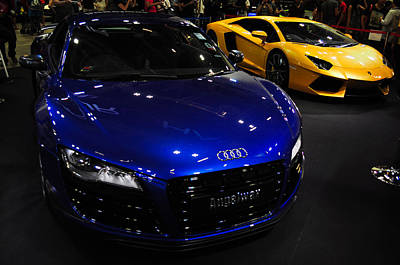 Photograph - Blue Audi Sports by Chua  ChinLeng