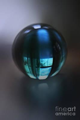 Photograph - Blue Ball by Danuta Bennett