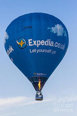 Photograph - Blue Balloon by Brian Roscorla
