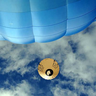 Blue Balloon Art Print by Stephen Richards