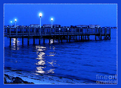 Photograph - Blue Bayou by Ginny Schmidt