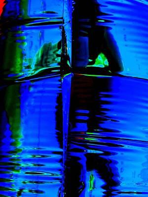 Bayou Digital Art - Blue Bayou by Randall Weidner