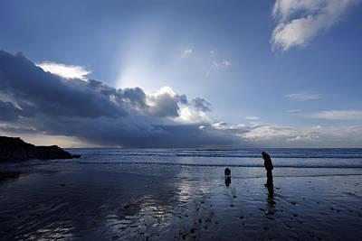 Photograph - Blue Beach by Steve Ball