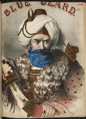 Blue Beard Art Print by British Library