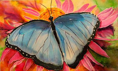 Painting - Blue Beauty by Beverly Johnson