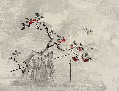 Animals Digital Art - Blue bird by Aged Pixel