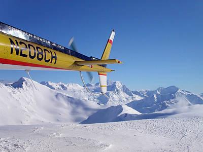 Snow Photograph - Blue Bird Day by Christian Cravens