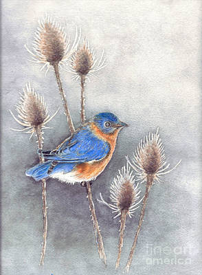 Painting - Blue Bird by Nan Wright