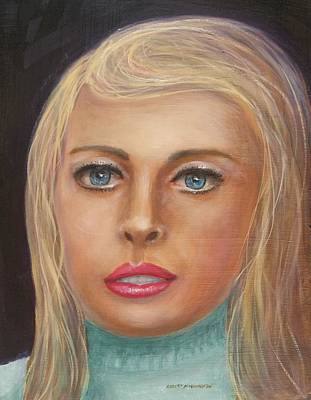 Painting - Blue Blonde by Robert Harrington