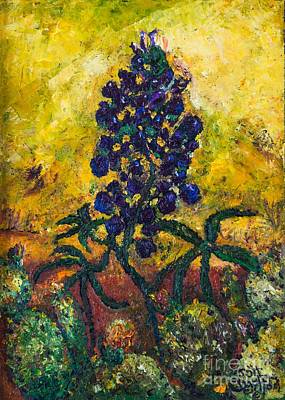 Painting - Blue Bonnet by Jott DH