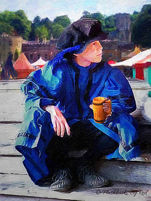 Painting - Blue Boy At The Faire by Melody McBride