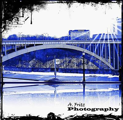 Photograph - Blue Bridge by Al Fritz