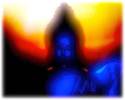 Blue Buddhascape Original