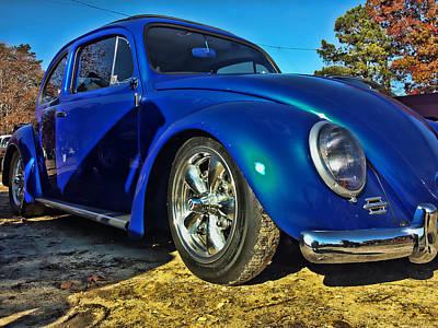 Blue Bug Art Print