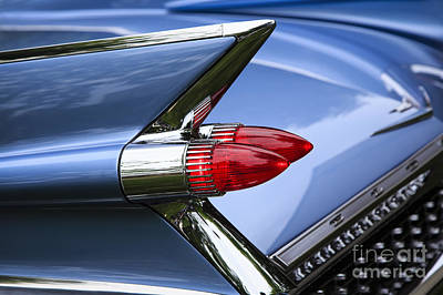 Photograph - Blue 1959 Cadillac by Dennis Hedberg