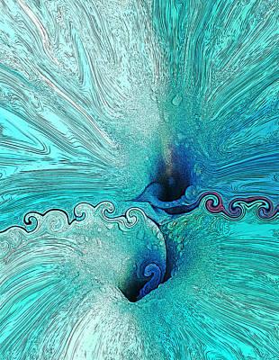 State Love Nancy Ingersoll - Blue Calla Lilies. by John Stuart Webbstock