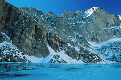 Chasm Lake Photograph - Blue Chasm by Eric Glaser