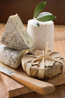 Blue Cheese And Goat's Cheese Art Print