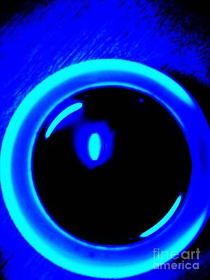 Photograph - Blue Circle by Eric  Schiabor
