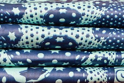 Blue Cloth Art Print