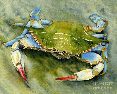 Painting - Blue Crab by Brett Winn