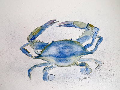 Painting - Blue Crab  by Nancy Patterson