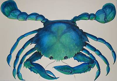 Painting - Blue Crab by Patti Lane