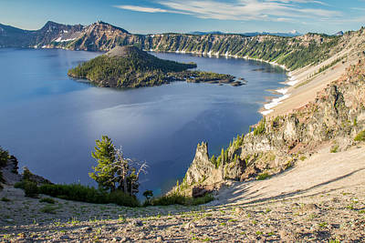 Photograph - Blue Crater Lake  by Pierre Leclerc Photography