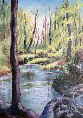 Blue Creek Original by Janet Felts