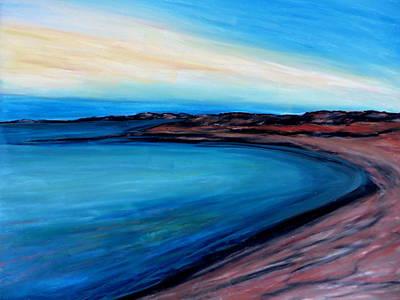 Pastel - Blue Vista by Daniel Dubinsky