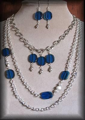 Estate Jewelry Jewelry - Blue Danus by Jan Brieger-Scranton