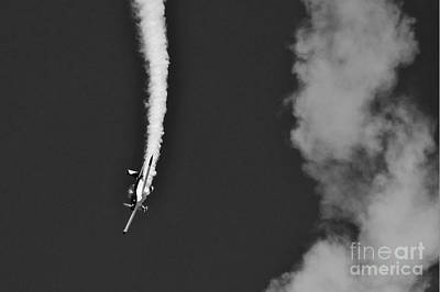 Photograph - Blue Daredevil In Bw by Don Youngclaus