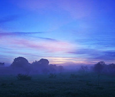 Photograph - Blue Dawn by Al Hurley