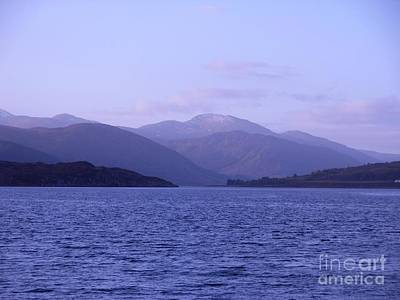 Photograph - Blue Dawn Over Loch Broom 2 by Joan-Violet Stretch