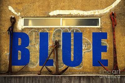 Photograph - Blue by Dean Harte