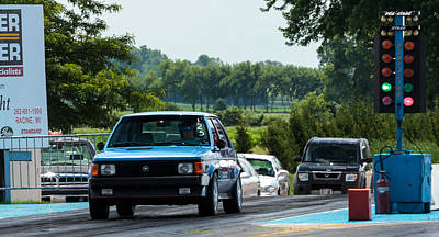Traditional Bells Rights Managed Images - Blue Dodge Omni GLH - 02 Royalty-Free Image by Josh Bryant
