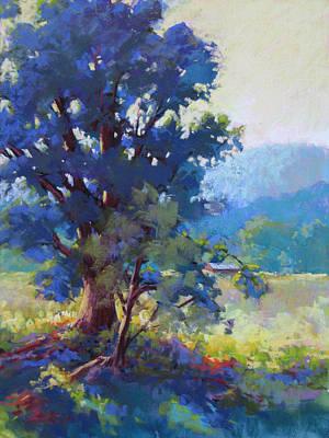 Painting - Blue Dogwood by Marsha Savage