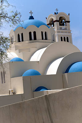 Photograph - Blue Domes by Brenda Kean