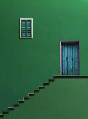 Wall Art - Photograph - Blue Door by Alfonso Novillo