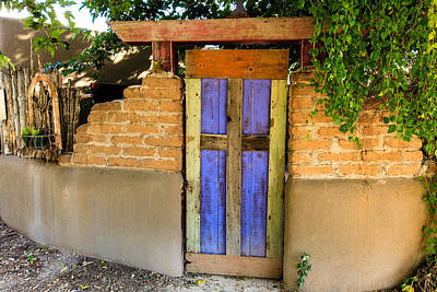 Photograph - Blue Door by Ben Graham