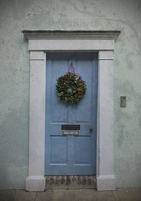 Photograph - Blue Door by Carol Erikson