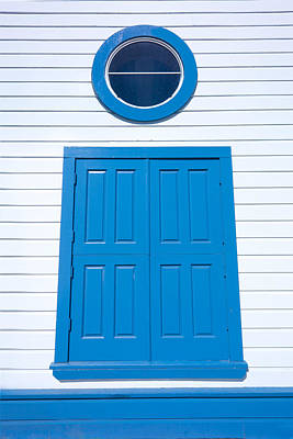 Photograph - Blue Door Fisherman's Wharf San Francisco by David Smith