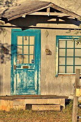Photograph - Blue Door by Gordon Elwell