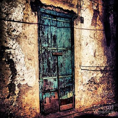 Blue Door Art Print by H Hoffman