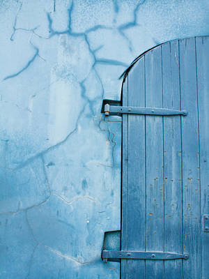 Photograph - Blue Door In St. Thomas Virgin Islands by Jared Shomo